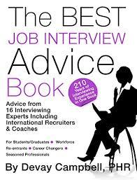Job Interview Books Amazon Com The Best Job Interview Advice Book Ebook See
