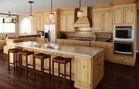 Cabin Remodeling Alder Wood Kitchen Cabinets Cabin Remodeling