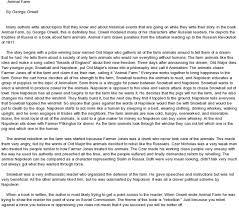 essay on the book animal farm by george orwell docoments ojazlink george orwell animal farm chapter i an essay ideals