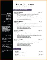 Libreoffice Resume Template Magnificent 28 Resume Template Download Libreoffice Resume Template 28 Resume
