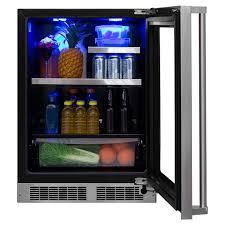 Undercounter Drink Refrigerator 24 Beverage Refrigerator With Drawer