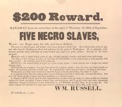 harriet tubman conductor of the underground railroad meet   200 reward ran away from the subscriber five negro slaves