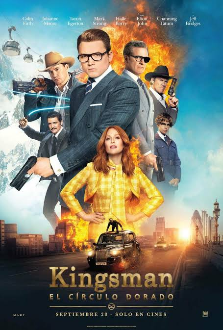 Kingsman The Golden Circle 2017 Hindi Dual Audio 720p ESubs BluRay