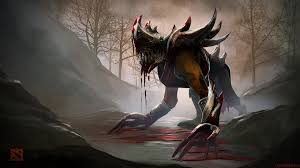 download wallpaper 1920x1080 lifestealer dota 2 art full hd
