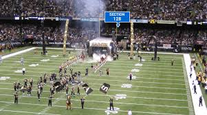Saints Superdome Virtual Seating Chart New Orleans Saints Superdome Seating Chart Interactive Map