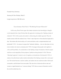 examples of summary essays co examples of summary essays