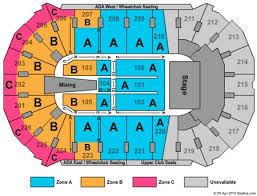 Resch Center Seating Chart With Seat Numbers Resch Center Tickets And Resch Center Seating Charts 2019