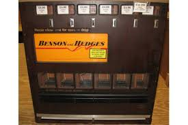 Cigarette Vending Machines Illegal Amazing 48's Cigarette Vending Machine For Benson Hedges Six Drawers In