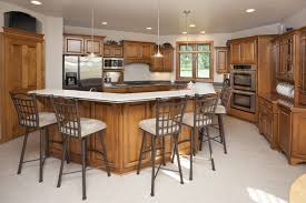 Two Tier Kitchen Island Designs 30 Kitchens With Two Tier Islands Nice Feature Rustic
