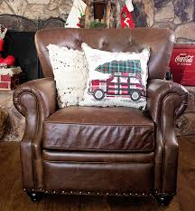 pottery barn recliner. Exellent Pottery Candace Rose Anderson Candieanderson Blog Pottery Barn Holiday Decorating  Event Sale Lansing Tufted Leather Recliner On Pottery Barn Recliner G