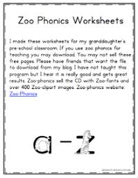 Welcome to esl printables, the website where english language teachers exchange resources: Free Lowercase Zoo Phonics Worksheets Google Drive Preschool Printables Zoo Phonics Phonics Worksheets Phonics Printables