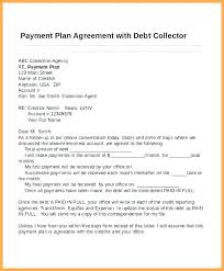 Sample Agreement To Pay Debt Debt Template Payment Plan Agreement Letter Arrangement Best