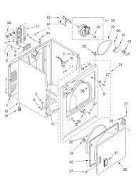 Whirlpool estate dryer wiring diagram 2
