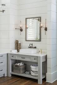white bathroom cabinets gray walls. vanity paint color is \u201csherwin williams sw 7017 dorian gray\u201d. wall \u2013 white bathroom cabinets gray walls