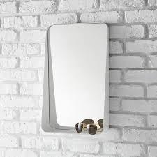 White Vertical Arch Wall Mirror