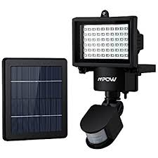 Amazoncom  Home Lighting Outdoor LED Security Lights With Motion 80 Led Solar Security Light