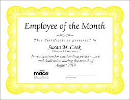 Appreciation Certificate Wordings Recognition Wording For