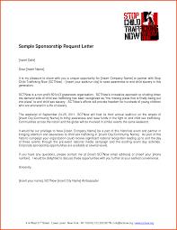 Sponsorship Letter Sponsorship Request Letter For Magazine Jpg