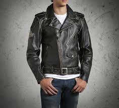 harley davidson men s vintage leather biker jacket 98063 13vm