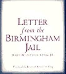 letter from the birmingham jailmartin luther king jr inside letter from birmingham jail summary