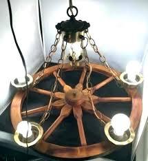 wagon wheel chandelier antique full image for vintage diy