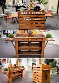 Bar Made Out Of Pallets Fruits Bar Made Out Of Wood Pallets Pallet Wood Projects