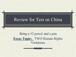 review for test on bring a pencil and a pen essay topic  1 review for test on bring a 2 pencil and a pen essay topic two human rights violations