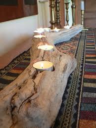Seaside Decorative Accessories Driftwood Driftwood center piece wedding decor rustic candle 47