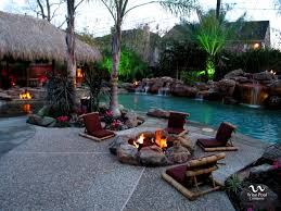 outdoor living pool and patio lubbock ideas