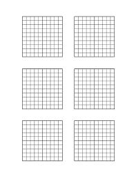 Decimal Hundredths Grid Blank Via Hundred Printable Square