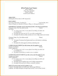 Cosy Sample Resume Teenager First Job In Samples Objective Statement