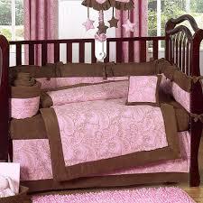 charming baby nursery room design using paisley baby girl bedding extraordinary baby nursery room decoration
