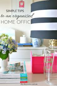 office decorator. Organised Home Office Decorator O