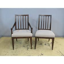 8 thomasville harlowe finch axel slat arm side dining chairs set 83421 831 2 899 00