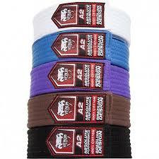 Venum Bjj Belt Jiu Jitsu Black Brown Purple Blue White A0 A1