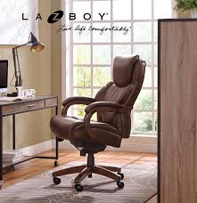 leather office chair amazon. Amazon.com: La Z Boy Delano Big \u0026 Tall Executive Bonded Leather Office Chair - Chestnut (Brown): Kitchen Dining Amazon F