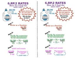 6 Rp 2 Ratio Rate Anchor Chart
