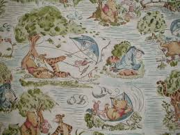 The Fabric Finder,upholstery find fabric,drapery fabric,home decor ... & Remnant Springs Winnie Pooh Day in the Park Toile fabric Adamdwight.com