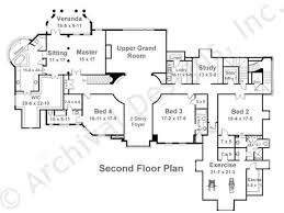 en manor french country house plans luxuryplans second floor