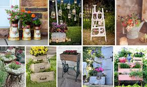 garden decor ideas.  Decor 20 Vintage Garden Decor Ideas To Give Your Outdoor Space A New Spirit  The  ART In LIFE In N