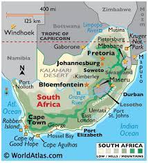 South Africa Maps & Facts - World Atlas