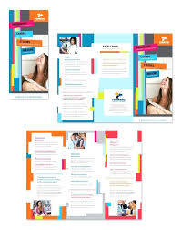 brochure microsoft word word brochures microsoft word blank tri fold brochure template image