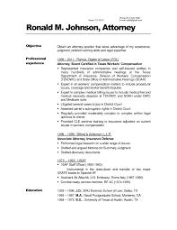 Sample In House Counsel Resume Alieninsidernet
