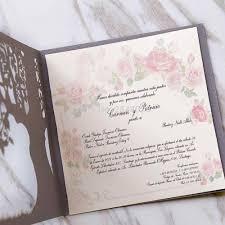 Elegant Invitation Cards 50pcs Custom Love Story Tree Wedding Invitation Laser Cut Elegant Invitation Cards Modern Wedding Cards
