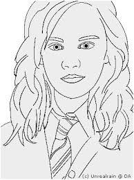 Hermione Granger Coloring Pages Cute Kleurplaat Kleurplaten Harry