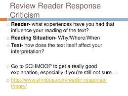 th rrc essay springboard senior english writing a reader response criticism essay 2