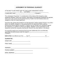 Guarantor Letter Template Sample Of 7 Agreement Birth Certificate