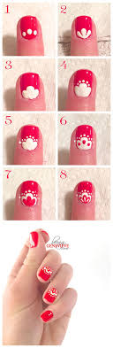 Easy Nail Design Steps 25 Easy Step By Step Nail Tutorials For Girls Pretty Designs