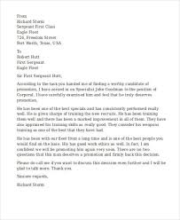letter of recommendation army form letter army recommendation form