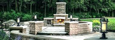 build your own outdoor fire place how to build an outdoor brick fireplace cost to build